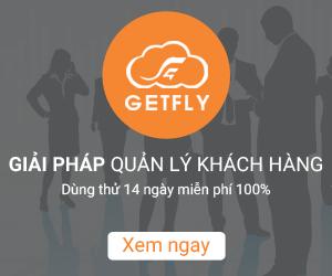 GetFly CRM - Giải pháp quản lý khách hàng, đòn bẩy công nghệ cho các doanh nghiệp trong năm 2016