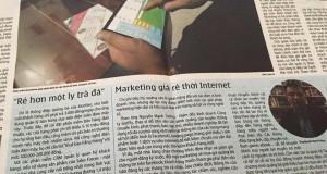 Marketing giá rẻ thời Internet