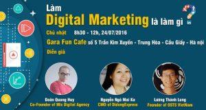 Làm Digital Marketing là làm gì?