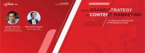 Workshop: Từ Chiến lược thương hiệu đến Marketing nội dung