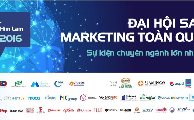 GetFly CRM đồng hành cùng Đại hội Sales và Marketing toàn quốc 2016