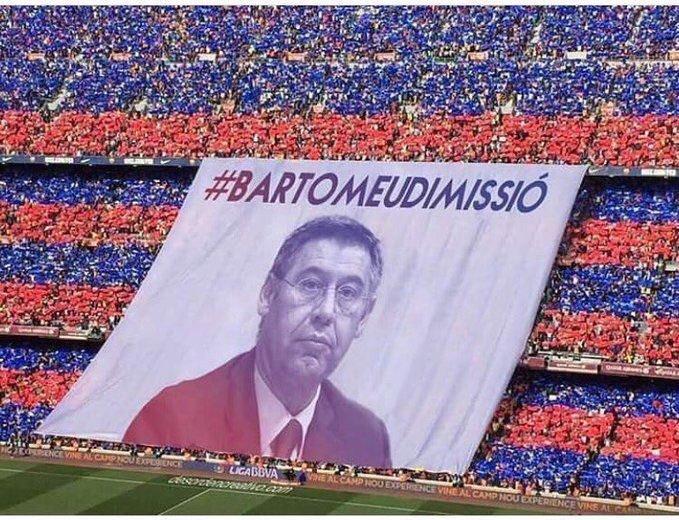 làn sóng kêu gọi Josep Bartomeu từ chức
